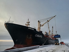 Oboronlogistics completed the delivery of inert materials and special equipment to the Novaya Zemlya