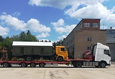 Oboronlogistics carried out transportation of airfield air conditioner